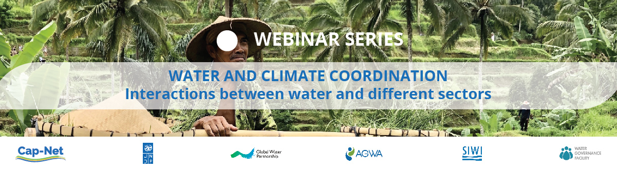 """Water and Climate Coordination"" Supporting the NDCs under the Paris Agreement   Webinar 1 Interactions between water and different sectors"